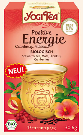 Yogi Tee Positive Energie