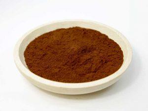 Kakaopulver in einer Schale